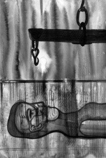 """Naba Kumar Chakrabarty Untitled-6 Ink on acid free paper (Cartridge) 7"""" x 10"""" 2016"""