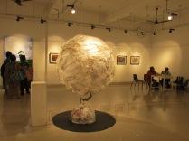 Plastic globe by Naba Kumar Chakrabarty